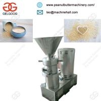 Quality High Efficiency Automatic Commercial Use Sesame Seeds Butter Grinding Machine for sale