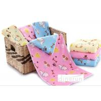 China Kids water absorbent towels , Dog Design lightweight towels quick drying 60*120cm on sale