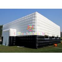 Quality Customized Outdoor Inflatable Tent / White Inflatable Party Tent 15M X 10M for sale