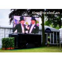 Buy cheap Advertising P6 smd led display outdoor , high brightness Rental LED Screen 1/8 scan from Wholesalers