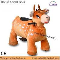 China Reindeer Children Happy Ride Toy Christmas Funny Rides, Animal Electric Ride in Wholesale on sale