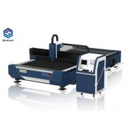 Quality Metal Sheet / Tubes Industrial Laser Cutting Machine Dual Motor High End CNC System for sale