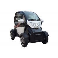 Long Range 1200 W  Mini Electric Car White Color With 2 Seats