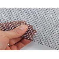 China Plain Weave Square Wire Mesh Fencing 4mm Hole Size For Bird Cage / Animal Zoo on sale