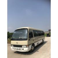 China Cheap price Japan made Toyota Coaster used passenger van with diesel engine high quality used bus for sale on sale