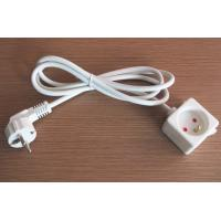 China French type iron board power cord, AC socket wire for France on sale