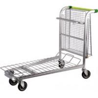 Quality Portable Supermarket Shopping Warehouse Trolley on wheels for sale