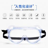 Quality Portable Safety Eye Protection Goggles PC With Anti Fog / Scratch Function for sale