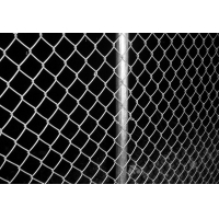Quality hot dipped galvanized rusty protection chain link fence for sale