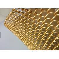 Quality Space Divider Metal Coil Curtain, Wire Dia1.2mm Decorative Metal Chains Drapery for sale