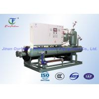 Quality Carlyle Water Cooled Chiller System , Commercial Danfoss Condensing Unit for sale