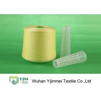 502 Colored Ring Spun Dyed Polyester Yarn, Polyester Twisted YarnFor Knitting / Weaving