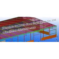 China Steel Workshop Civil Engineering Structural Designs For Fabrications on sale