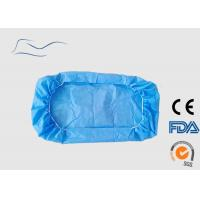 Quality Surgical White Disposable Bed Covers Non Woven Material 110 * 220CM 30G for sale