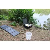 Quality Compact Portable Solar Water Purifier Suitcase Style DC12V DC24V Water Filtering System for sale