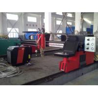 Quality Automated CNC Flame Plasma Cutting Machine Carbon Steel For industrial for sale