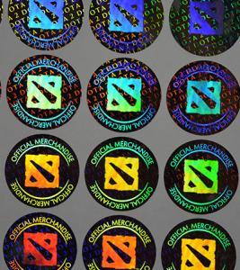Quality Lasering Hologram Sticker for sale