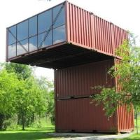 China Movable Shipping Container Cabin / Multi Level Shipping Container House Office Public Toilet on sale
