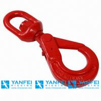 Quality Stainless Steel Hook, G80 Swivel Self Locking Hook for Rigging Hardware for sale
