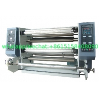 China FQ1300L series Vertical Automatic Slitting Rewinding Machine BOPP PET CPP CPE PVC craft paper adhesive label sticker on sale