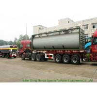 Buy UN1789  Hydrochloric Acid ISO Tank Container , Chemical ISO Liquid Container 30FT at wholesale prices