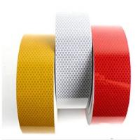 Quality Custom Printed Reflective Safety Tape , Colored Reflective Tape For Clothing for sale