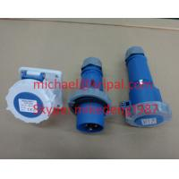 Quality Industrial plug connector socket IP67 CEE FORM for sale