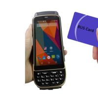 Buy cheap LF125Khz 4G LTE Android Handheld RFID Scanner D/2D Laser Reader Writer 1.3Ghz from wholesalers