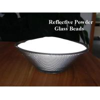 China 1.93nD H grade 3M quality of  High reflective index Glass Beads Retro Reflective Powder on sale