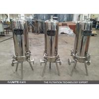 Quality Stainless steel cartridge filter housing with multi cartridge elements for sale