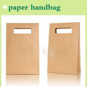 Quality kraft paper packaging handbag for shopping China manufacturer 2015 for sale