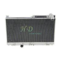 Quality 2 ROW design radiator tuning for MAZDA SPEED RX7 FD3S  rx7 s4 turbo MANUAL transmission  year1992 to 1995 for sale