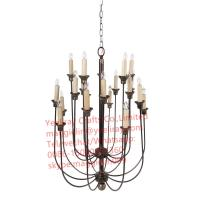 Quality YL-L1014 lighting decorative metal chrome iron chandelier hanging lights for sale