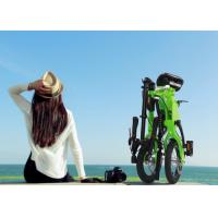 """Aluminium Alloy Frame Smallest Folding Bike 12"""" Inflate Tyre With Speed Adjustable"""