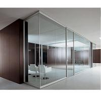 Quality clear tempered glass partition for office building and high grade restaurant made in China for sale