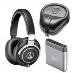 Quality Cheap Audio Technica ATH-M70X Headphones + FiiO A1 Mini Amplifier + Hard Body Case Kit for sale