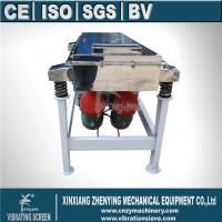 Buy ZYSZ Linear Vibrating Screen for sand at wholesale prices