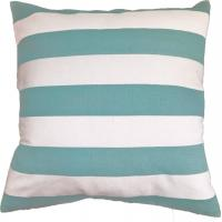 Green Stripe Printed Pillow Cushion Covers