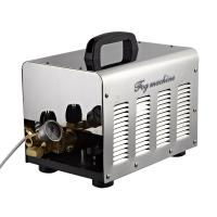 Quality 13 nozzles high pressure misting fog machine for outdoor space for sale