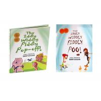 Quality Case Bound Hardcover Childrens Book Printing Self Publishing Printing Services for sale