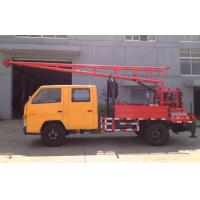 Buy cheap Hydraulic Chuck Truck Mounted Drilling Rig large input power and output torque from Wholesalers