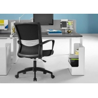Quality Commercial Ergonomic Office Mesh Wheeled Computer Chair for sale