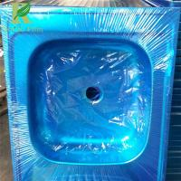 Quality 0.03-0.2mm Blue Customized Adhesive Protective Film for Metal Surface for sale