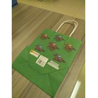 Quality Custom design of kraft Paper Bags, Paper bags with twisted paper handle for sale