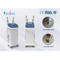 Quality Fractional RF Microneedle machine painless wrinkle removal device for sale