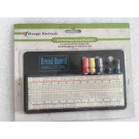 Quality ROHS ABS Round Hole Breadboard Circuit Projects 830 Points With Aluminum Plate for sale