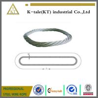 China Endless Round Grommet Wire Rope Slings Braided Loop Sling with Galvanized on sale