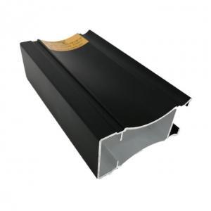China 6063 Black Anodic Oxidation Coated Aluminium Frame Extrusions on sale