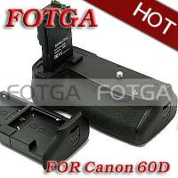 Quality OEM Fotga Vertical Battery Grip for Canon EOS 60D Rebel X0D as BG-E9 BGE9 for sale