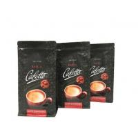 Quality FDA Food Grade High Barrier Customized Side Gusset Manila Coffee Bags with Zipper for sale
